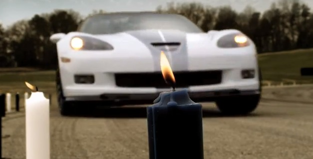 Chevrolet Corvette 427 Convertible - Candles
