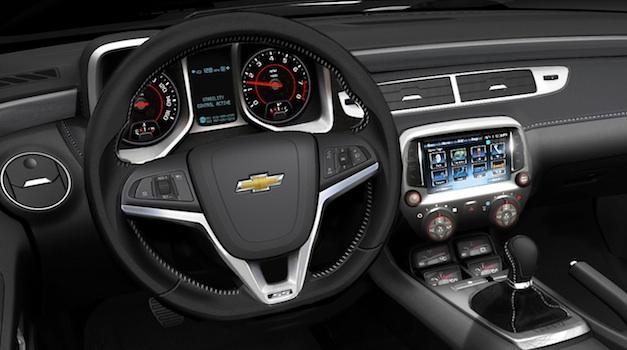 Chevrolet Camaro MyLink Navigation