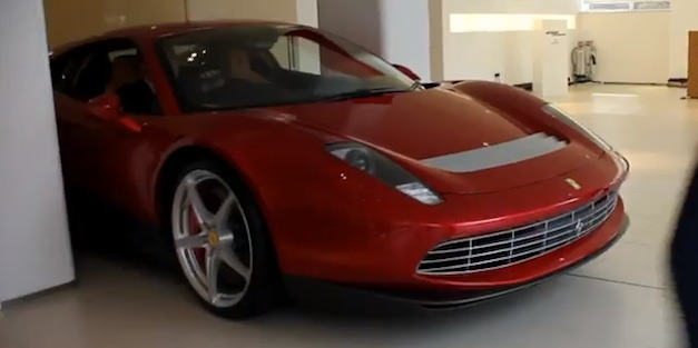 Ferrari SP12 for Eric Clapton