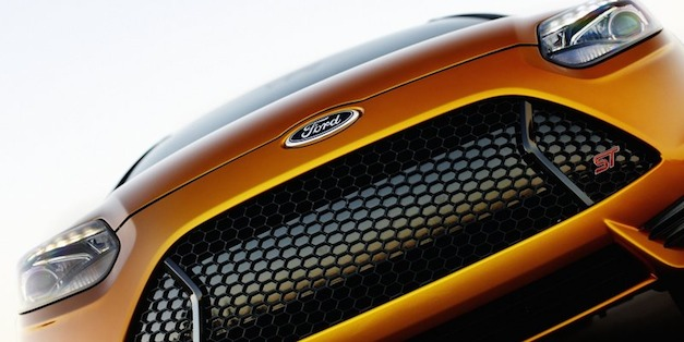 Ford Focus ST Grille