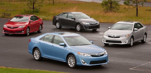 2012 Toyota Camry Lineup
