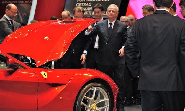 Volkswagen CEO Ferrari F12 Berlinetta