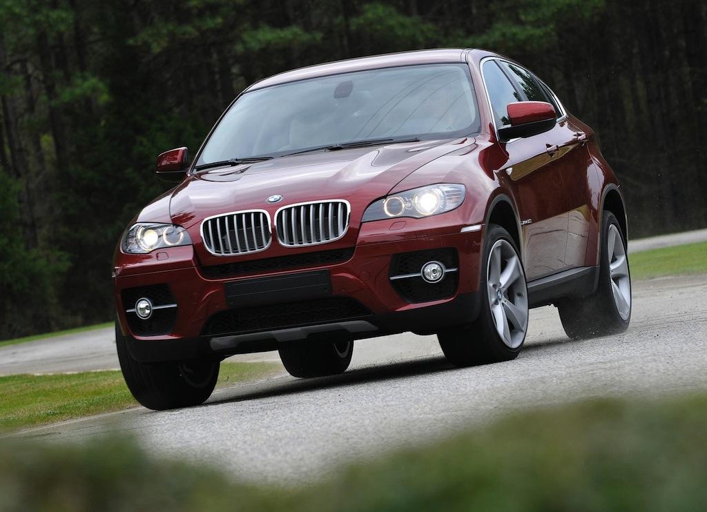 2012 BMW X6 SAV Front