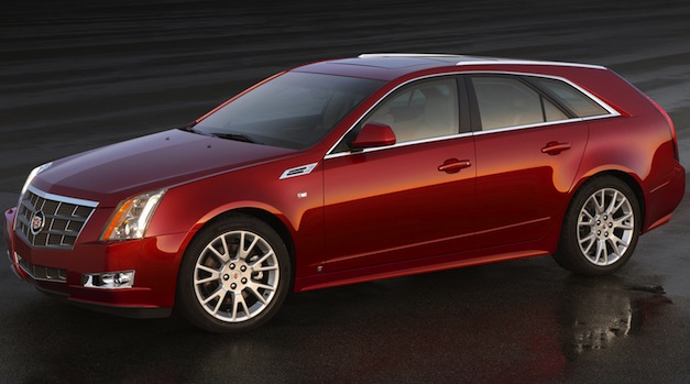 2012 Cadillac CTS Sport Wagon 3/4 Front Left