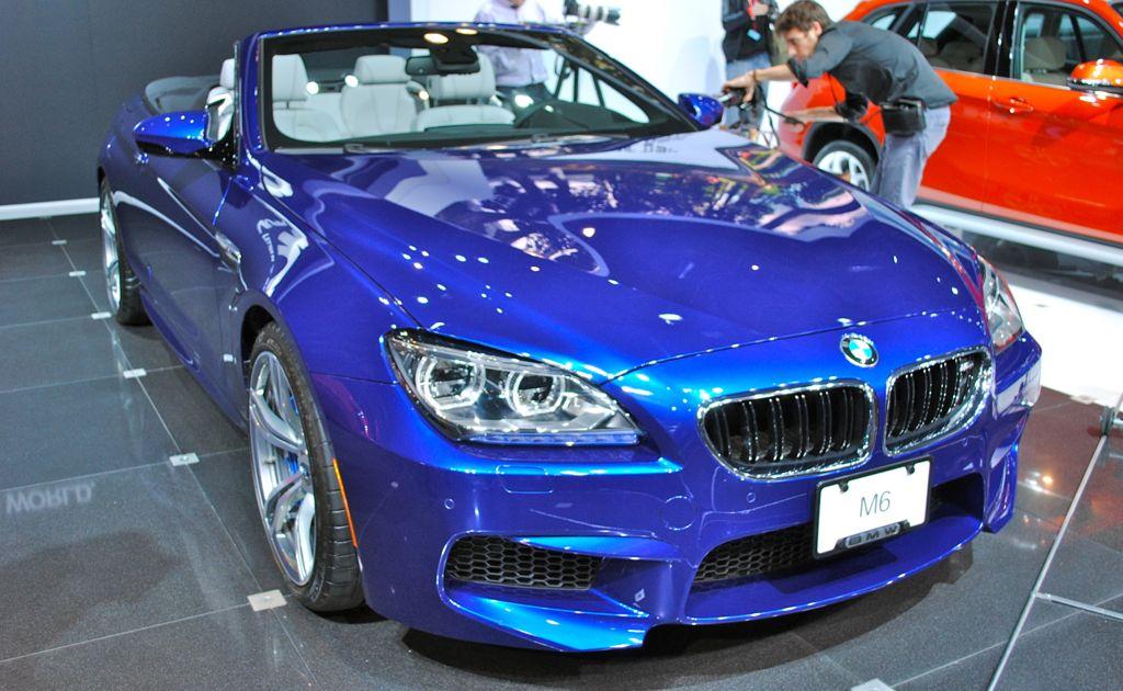 2012 New York: 2013 BMW M6 Convertible