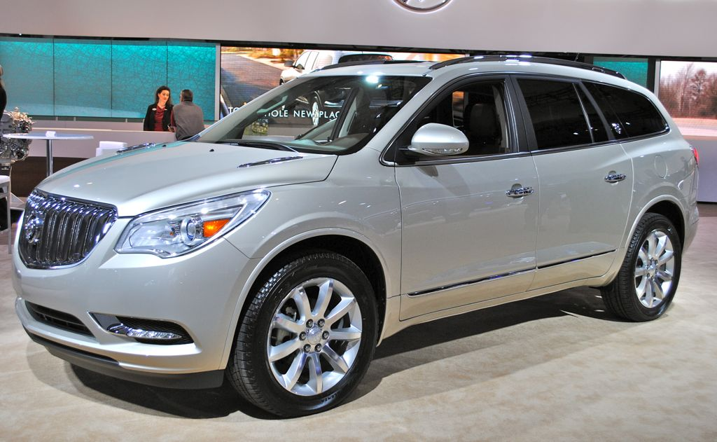 2012 New York 2013 Buick Enclave