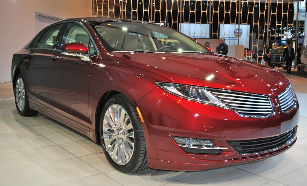 2012 New York: 2013 Lincoln MKZ