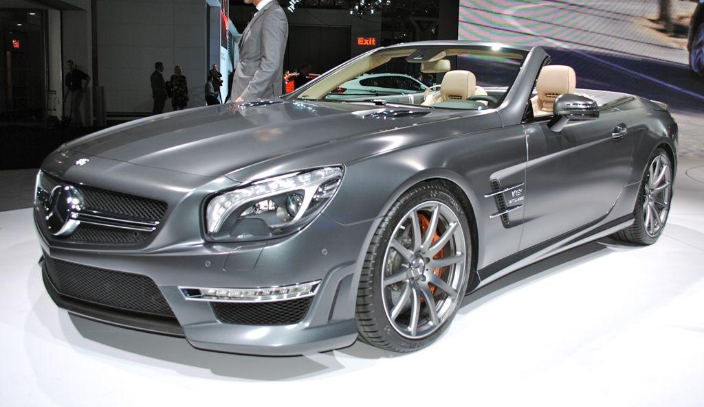 2012 New York: 2013 Mercedes-Benz SL65 AMG