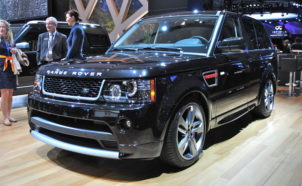2012 New York: Range Rover Sport Limited
