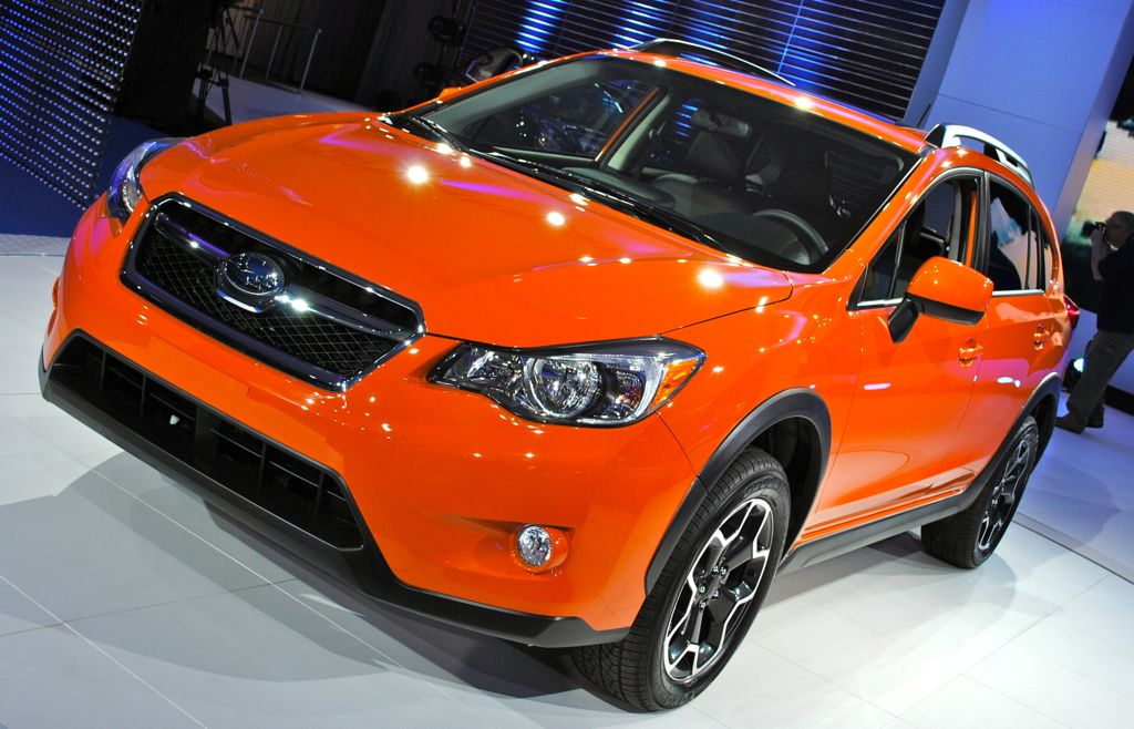 2012 New York: 2013 Subaru XV Crosstreck