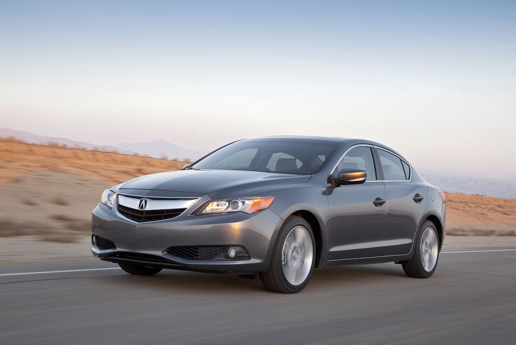 2013 Acura ILX Front 3/4 Left In Motion