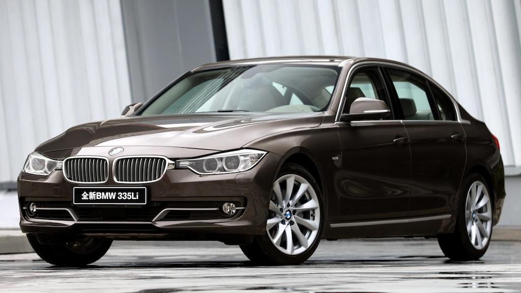 2013 BMW 3-Series LWB