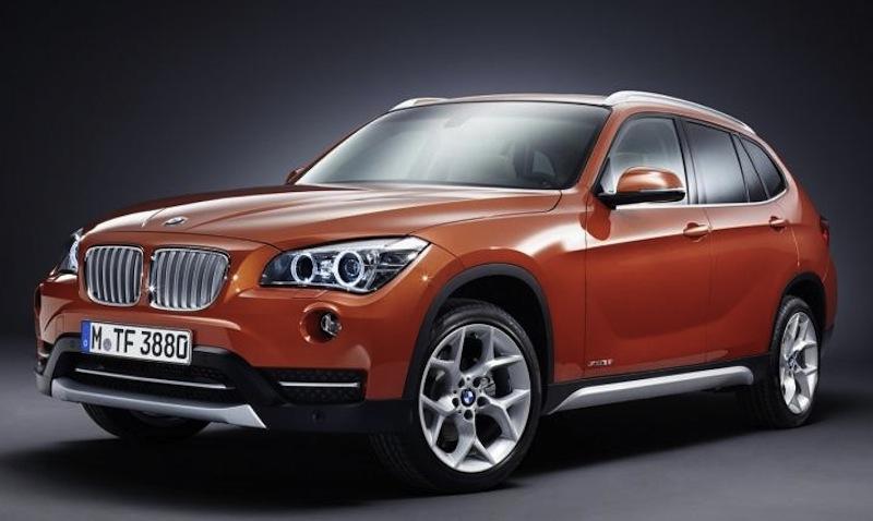 2013 BMW X1 Leak