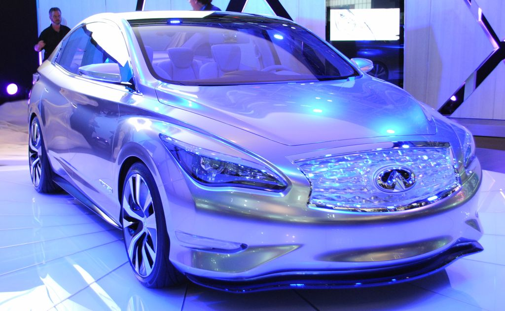 Early Look: Infiniti LE Concept