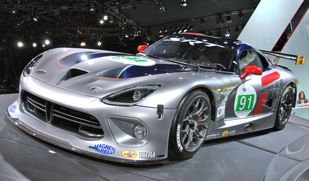 2012 New York: SRT Viper GTR-S