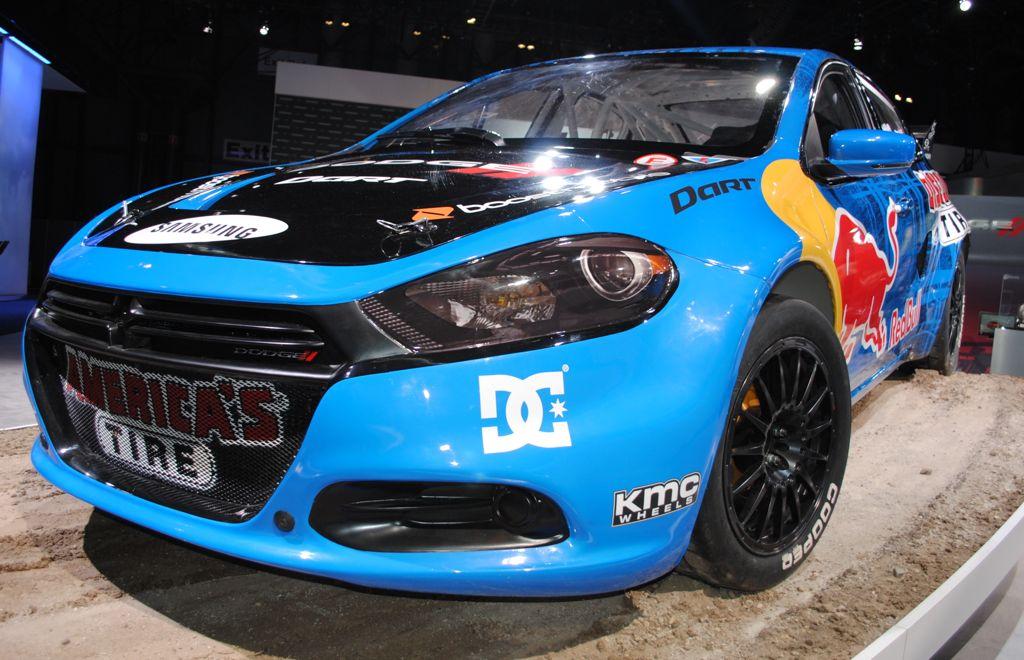 2012 New York: 600-hp Dodge Dart Rally Car