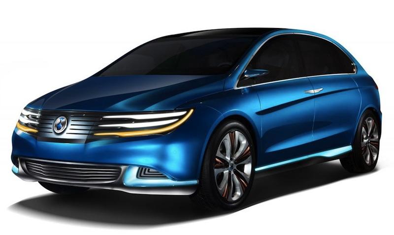 2012 Beijing: BYD Daimler Denza