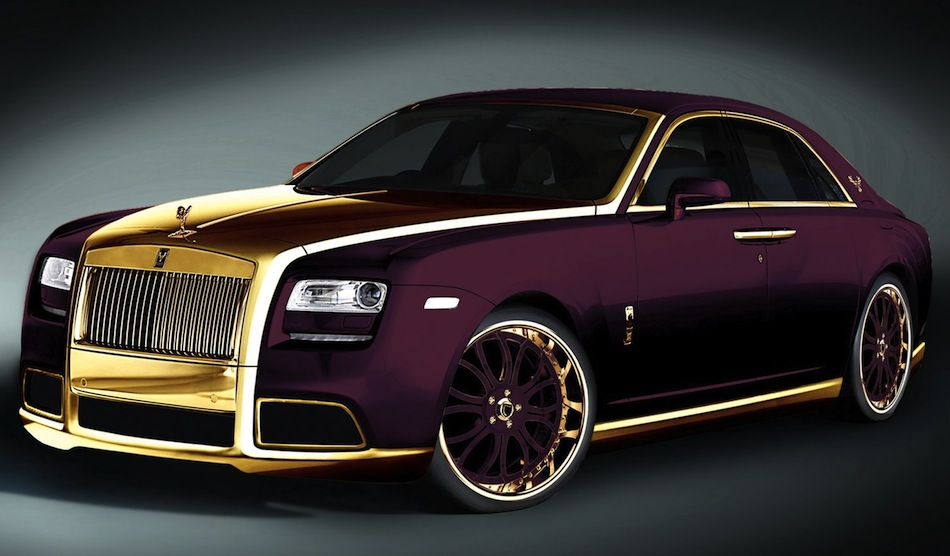 Fenice Milano Purple Rolls-Royce Ghost