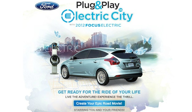 Ford Focus Electric Facebook