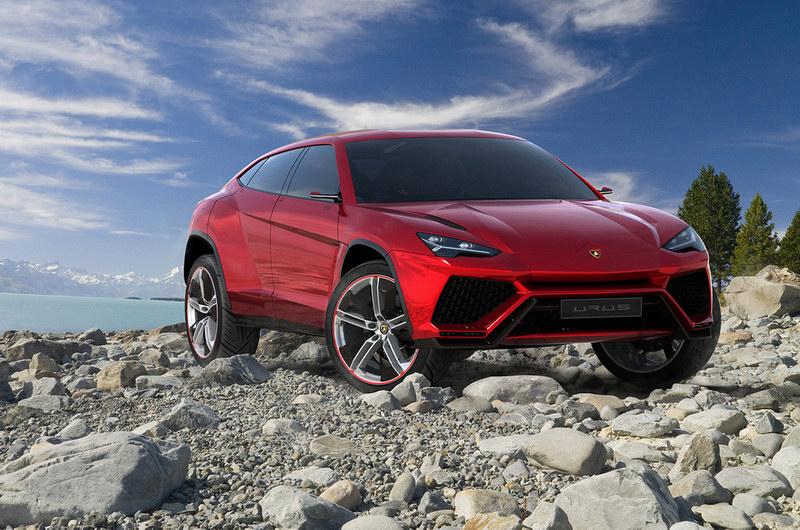 Lamborghini Urus Concept Leaked