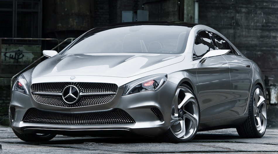 Mercedes-Benz Concept Style Coupe Leak