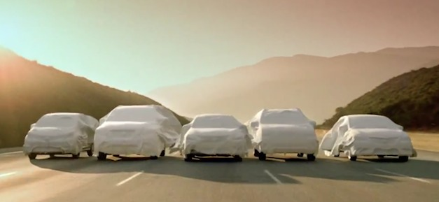 Nissan 5 Model Teaser