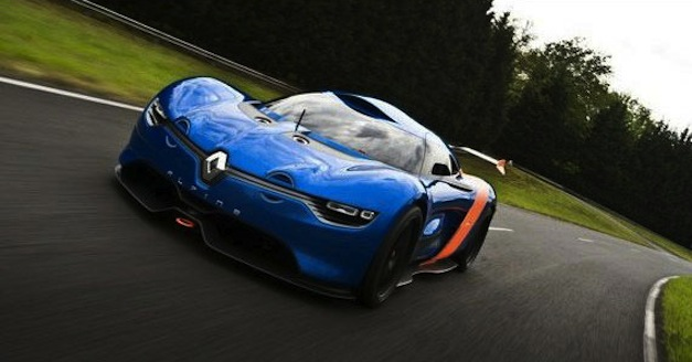 Alpine Renault A110-50 Concept In Motion