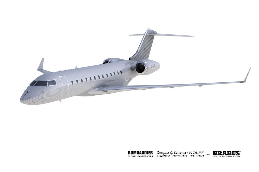 Brabus Aviation Custom Bombardier 2