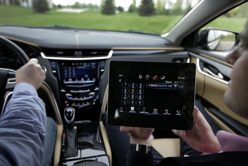 Cadillac CUE iPad App