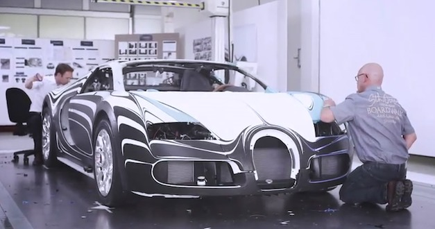 Bugatti Veyron Grand Sport L'Or Blanc development process