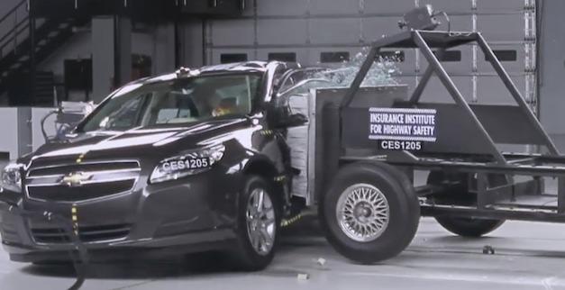 2013 Chevrolet Malibu Eco awarded IIHS' Top Safety Pick award