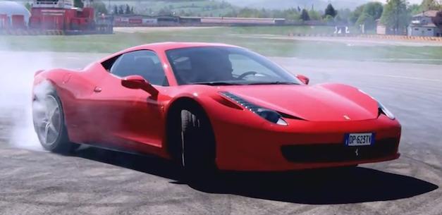 Ferrari 458 Facebook Celebration