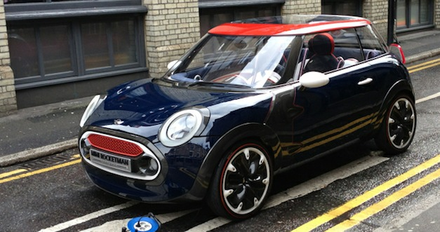 Mini Rocketman Spied