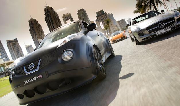 Nissan Juke-R Crossover