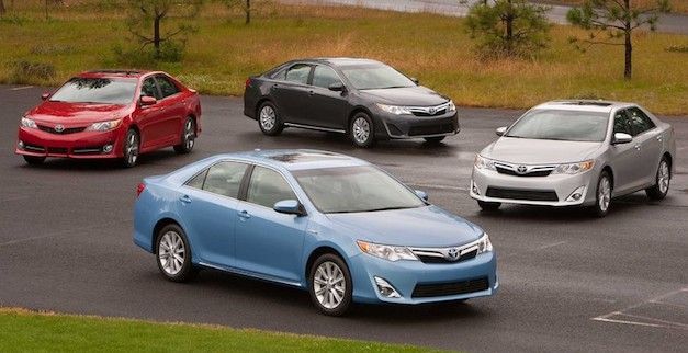 Toyota Camry Lineup