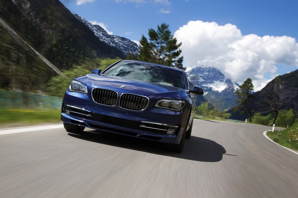 2013 BMW Alpina B7 Front In Motion