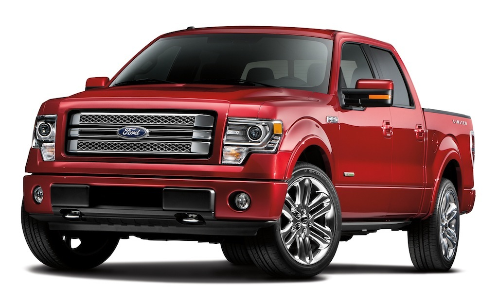 2013 Ford F-150 Limited Front 3/4 View