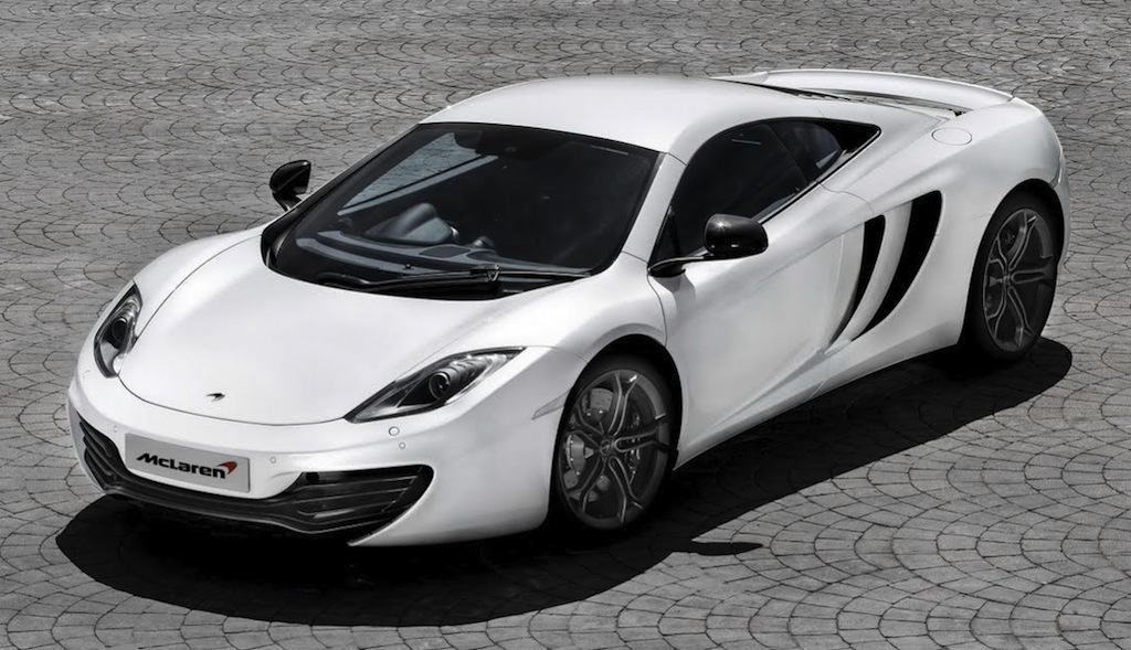 2013 McLaren MP4-12C Front 3/4 Top View
