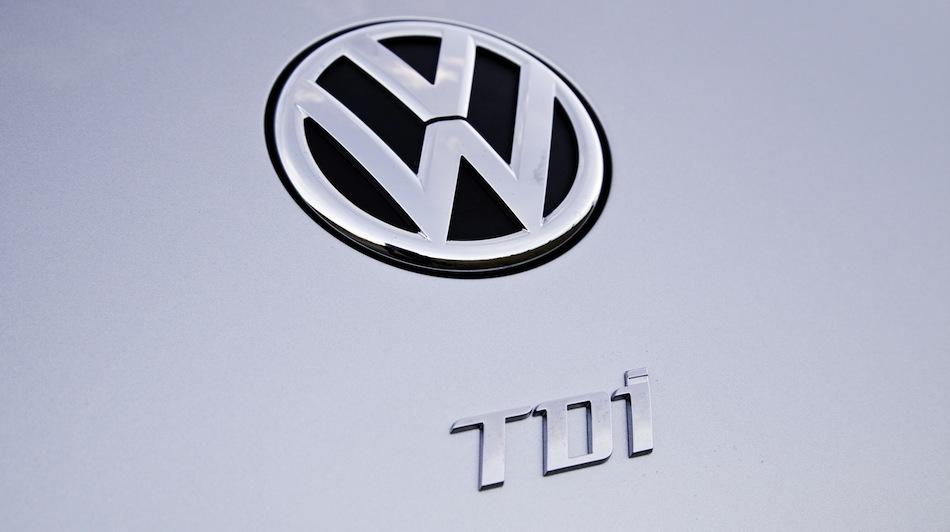 2013 Volkswagen Beetle TDI Diesel Logo