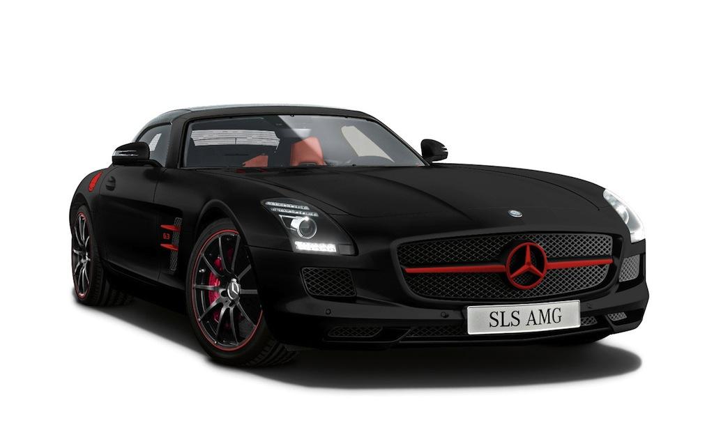 Mercedes-Benz SLS AMG Matt Black Edition