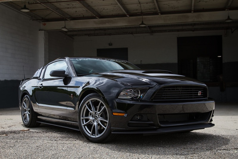 ROUSH RS Package For Mustang V6 Front 3/4