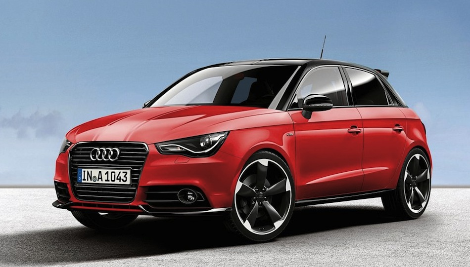 Audi A1 Misano Red Front View