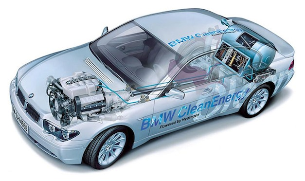 BMW Hydrogen Fuel-Cell