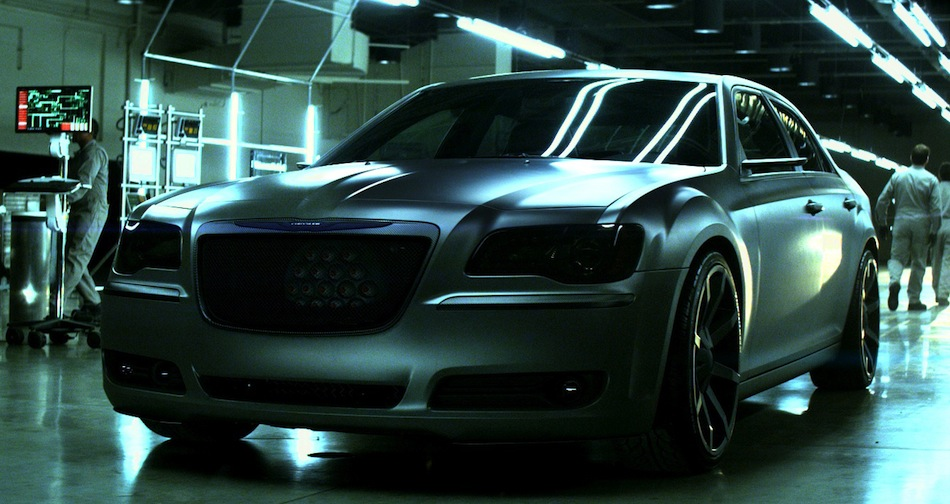 Chrysler 300 The Dark Knight Rises Front 3/4 View