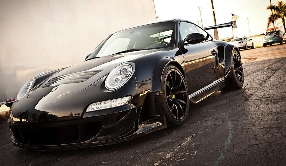Champion Motorsports Porsche 911 RSR Front 3/4 View