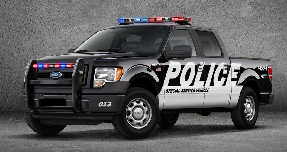 2013 Ford F-150 XL Police