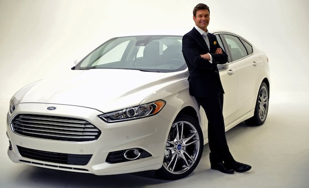 2013 Ford Fusion with Ryan Seacrest