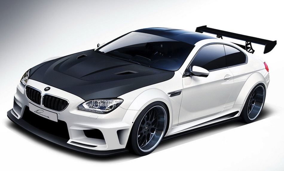 Lumma Design BMW M6 Coupe Front 7/8 View