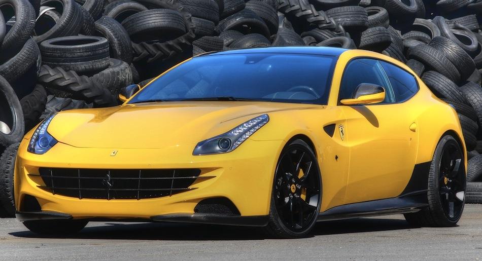 Novitec Rosso Ferrari FF Rear 3/4 View