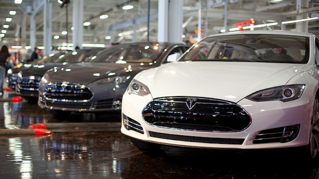 Tesla Model S Factory